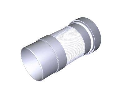 Удлинитель гибкий для унитаза с выпуском 110мм 250 - 470мм - купить в Сланцах. ТД «Вимос»
